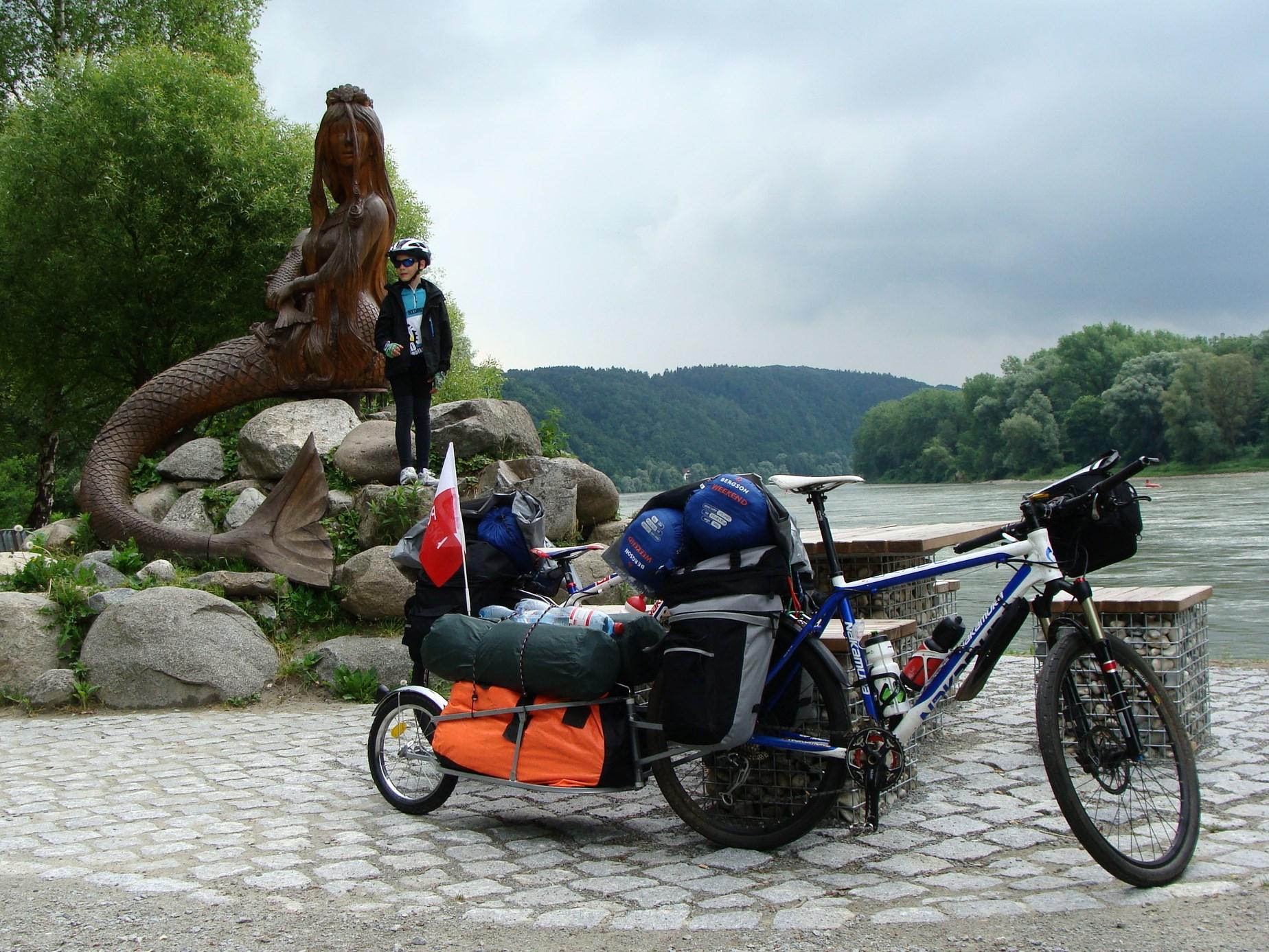 Wyprawa rowerowa  – Dunaj 2015