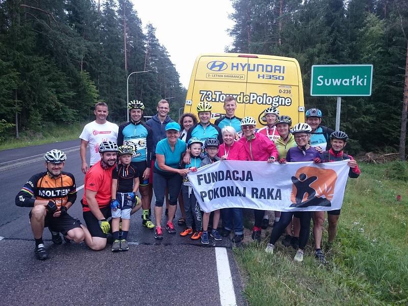 MTB Suwałki i OnkoTour na szlaku!