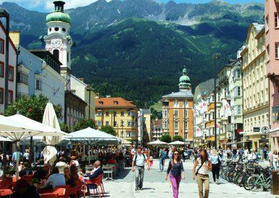 Innsbruck - Starówka