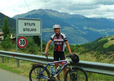 Miejscowość Stelvio - 1311 m n.p.m.