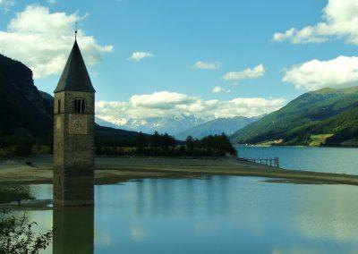 Jezioro Lago di Resia - 1498 m n.p.m.