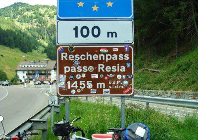 Przełęcz Resia - 1455 m n.p.m.